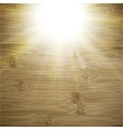 Abstract wooden background blurry light effects vector