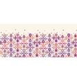 Abstract drops horizontal seamless pattern vector