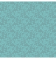 Vintage turquoise floral seamless pattern vector