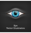 Background with human eye vector