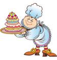 Cartoon cook vector