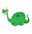 Happy dinosaur vector