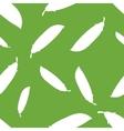 Pattern silhouette peas vector