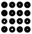 Circular saw blades vector
