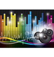 Music background design vector