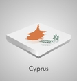 European flags set - cyprus vector