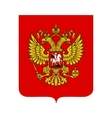 Coat of arms of russia vector