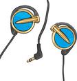 Earphones vector