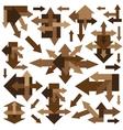Arrows - design elements vector
