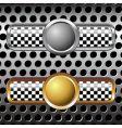Race badges vector