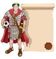 Roman soldier vector