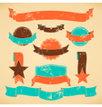 Badges and banners collection vector