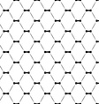 Tie bow seamless pattern monochrome vector
