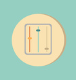 Equalizer symbol icon equalizer and music vector