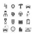Car auto service icons set vector