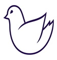 Bird simple2 resize vector