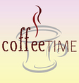 Coffee time bean word vector