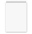 Notebook a3 size vector