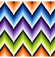 Seamless pattern with several colors zigzag vector
