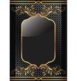 Luxury golden ornament vector