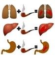 Disease from smoking vector