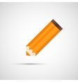 Design pencil with shadow eps vector
