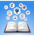 Education concept set vector