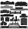 Architecture africa vector