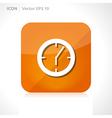 Clock - time icon vector
