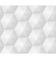 Seamless pattern - geometric modern hexagon polygo vector