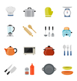 Kitchenware full color flat design icon vector