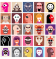 People portraits vector