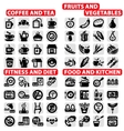 Big icons set vector