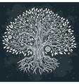 Beautiful vintage hand drawn tree of life vector