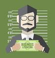 Business litigation concept vector
