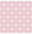 Nice seamless pattern tiling sweet pink white vector
