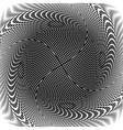 Design trellis interlaced spiral background vector