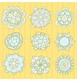 Set of ornamental patterns vector