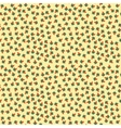 Seamless tiny floral pattern background vector