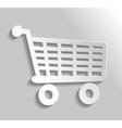 Icon shopping vector