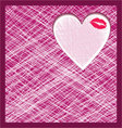Abstract heart background vector