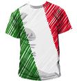 Italian tee vector