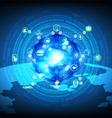 Cloud computing process data vector