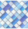 Light blue geometric pattern with matrix elements vector