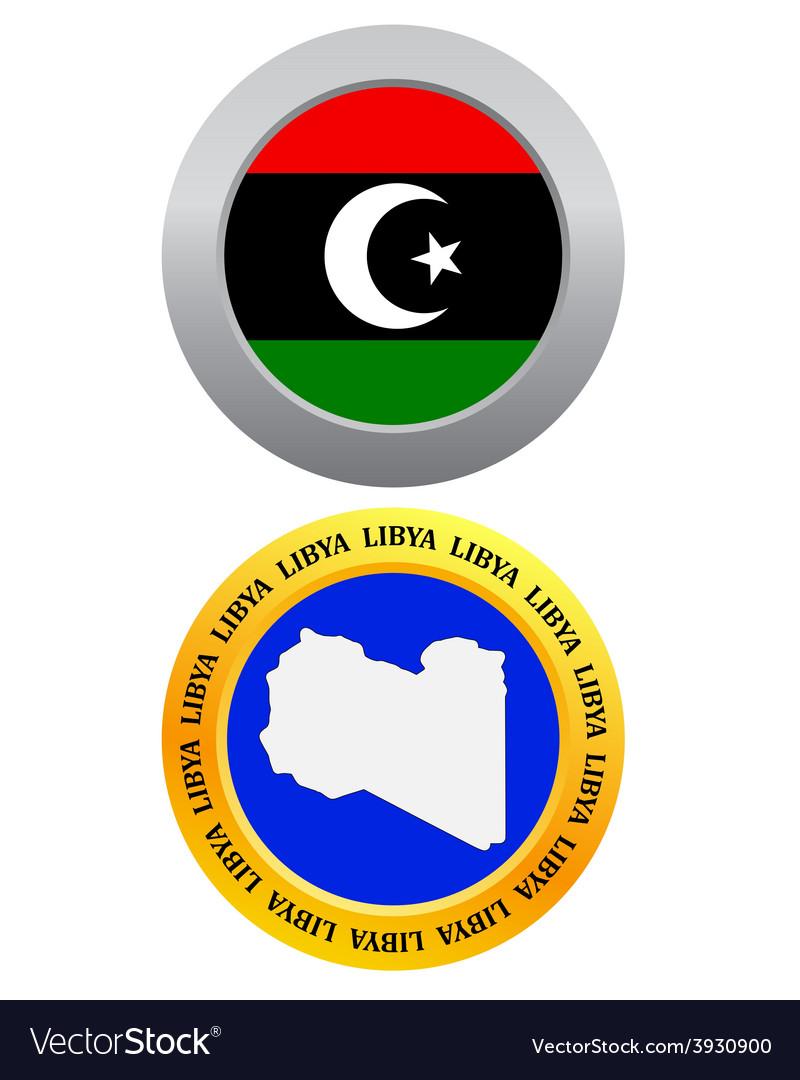 Button as a symbol libya vector   Price: 1 Credit (USD $1)