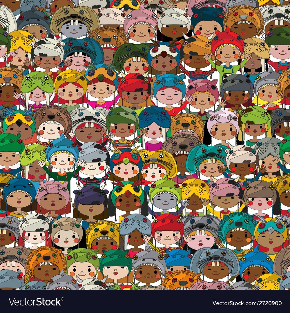 Children pattern colored vector   Price: 1 Credit (USD $1)