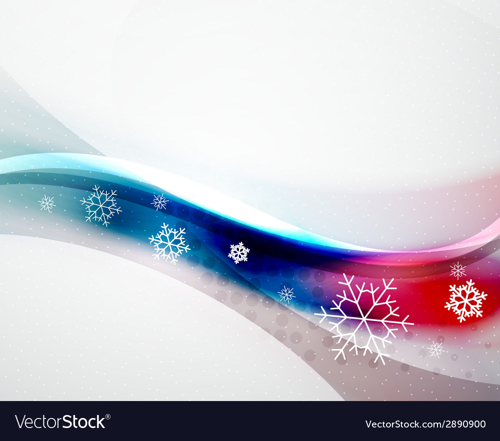 Christmas blur wave vector | Price: 1 Credit (USD $1)