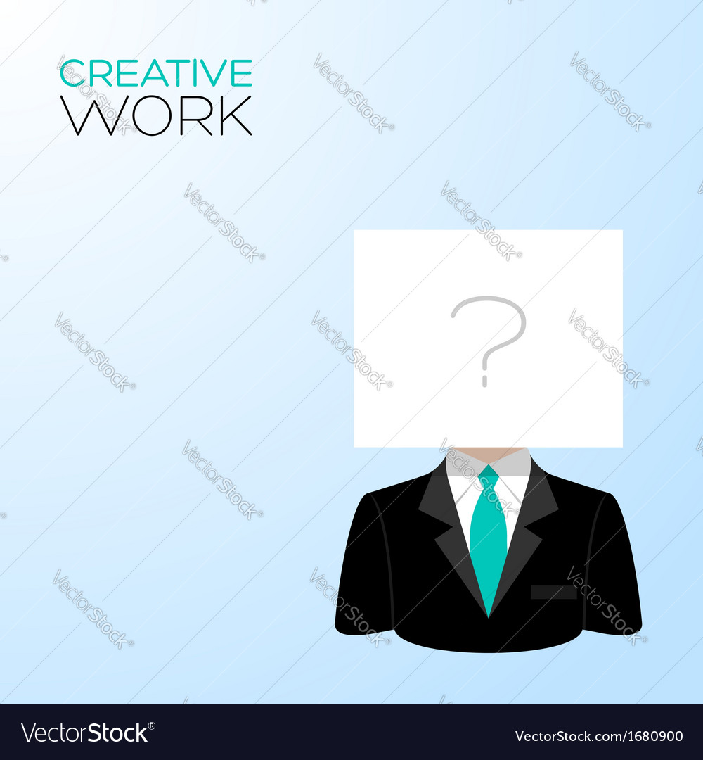Man with a white sheet vector   Price: 1 Credit (USD $1)