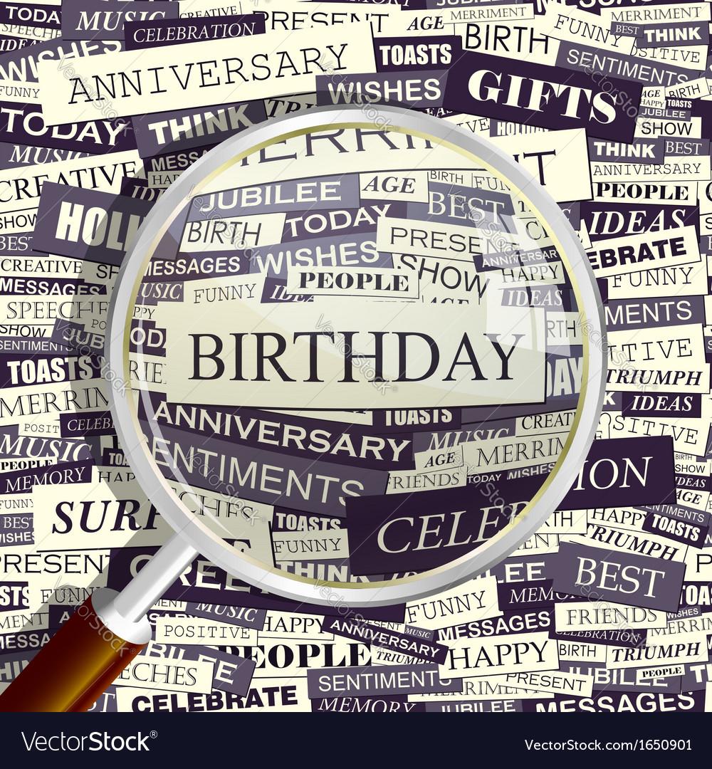 Birthday vector | Price: 1 Credit (USD $1)