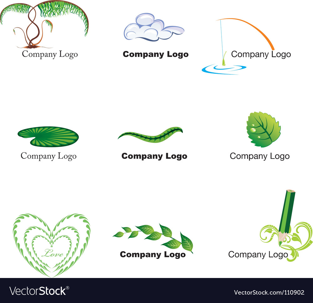 Nature logos vector | Price: 1 Credit (USD $1)